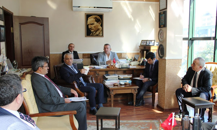 Ekonomi Bakanlığı Temsilcilerinden Ziyaret